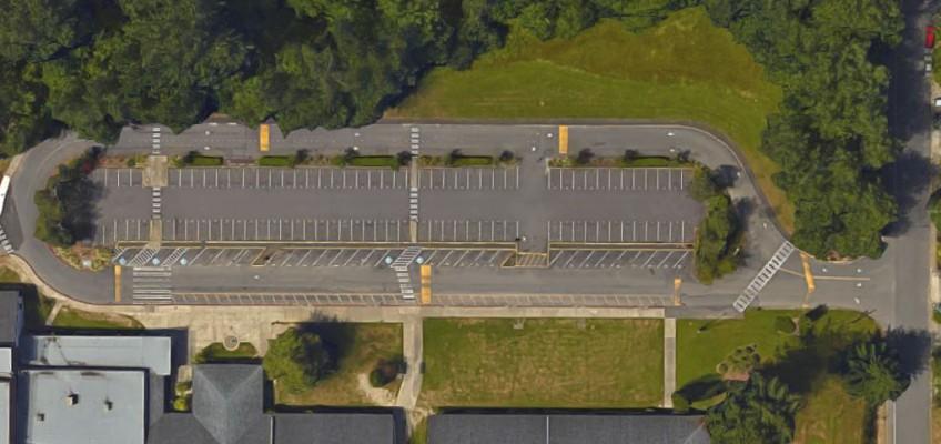International School Parking Lot