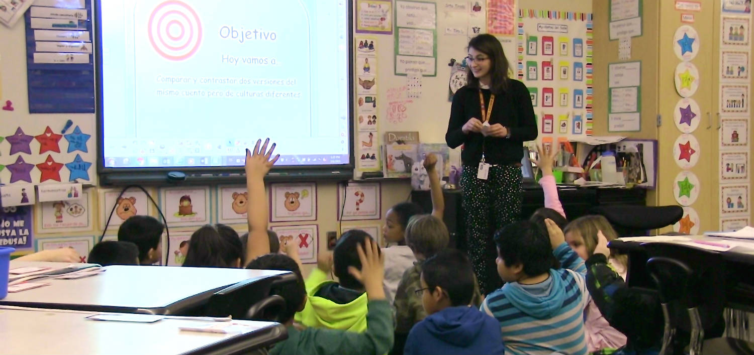 dual language The elementary dual language program is committed to providing a safe, supportive, and collaborative environment where each dual language student is given the opportunity to learn and grow to their highest potential.
