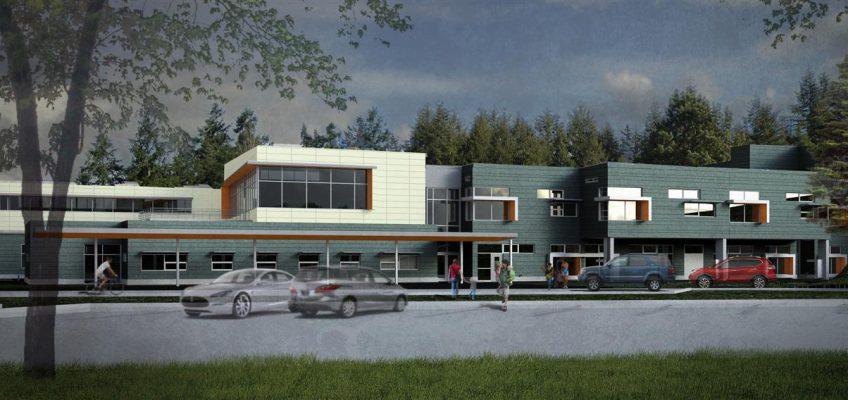 render of Bennett elementary school