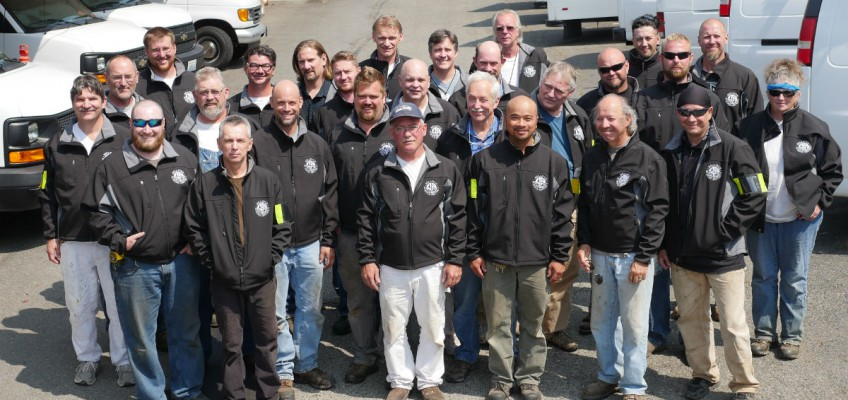 Group Photo of Maintenance Staff