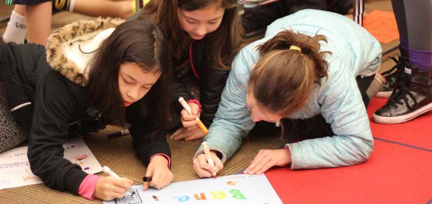 Medina Students Writing Notes