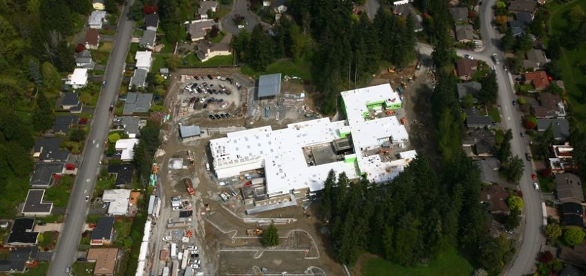 Aerial View of Bennett Construction