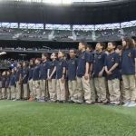Somerset Students Sing National Anthem at Safeco Field