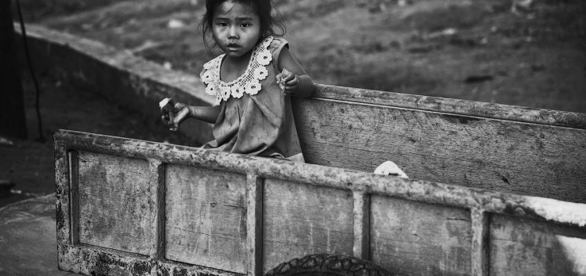 Photograph of Child in Cambodia