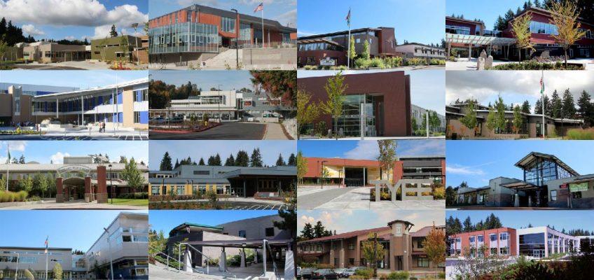Collage of Bellevue Schools