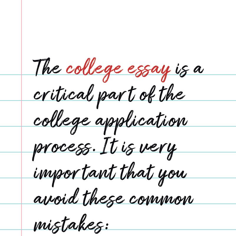 College Essays